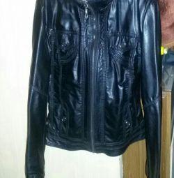 Leather jacket, р.140