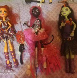 Dolls Monster High.Casta Firs. Tora Circus