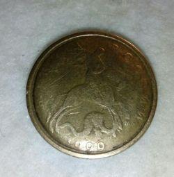 Moneda 10 copecks 1999 M