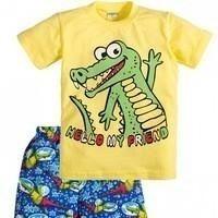 Set (pantaloni scurți + tricou) pentru un băiat