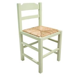 TRADITIONAL BREAKFAST CHAIR STRAWBERRY NATURAL WITH
