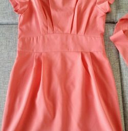 New Color Coral Dress