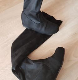 Boots. mare