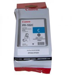 Canon PFI-102C Canon iPF500 / iPF600 / iPF610 Cartridge