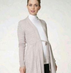 Hırka, sweatshirt, hamile kadınlar için ceket 48-50 ovmak.
