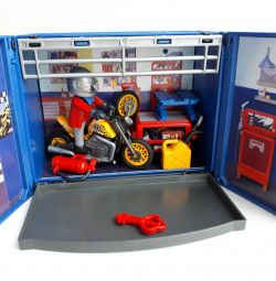 Playmobil 6157 motorcycle workshop
