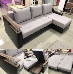 Corner Sofa bed Carmen DU