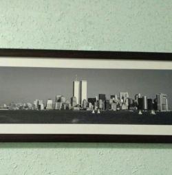Картины. Легендарные Башни Нью-Йорк.