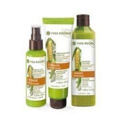 Set de păr cu Extract de Semințe de Okra