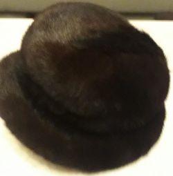 Шляпка норковая