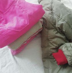 кофты, штаны, куртка