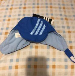 Шапка для малюків Adidas п / е + фліс на липучці