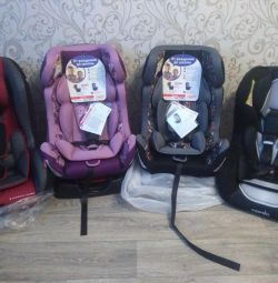 New car seat from birth to 7 years (0-25)