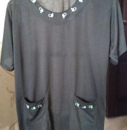Κοστούμι γυναικών σ.52-54, μπλουζάκι + παντελόνι