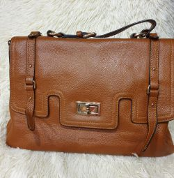 Τσάντα μασκότ γνήσιο δέρμα