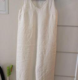 Λευκά φορέματα για την παραλία του ποταμού 50-52
