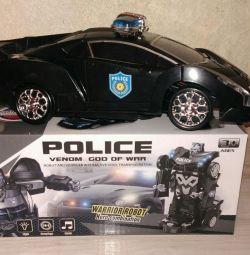 Μετασχηματιστής αστυνομικού αυτοκινήτου