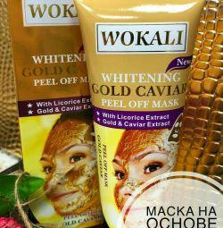 Gold face mask Wokali Gold Caviar