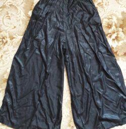 Loose pants. See profile