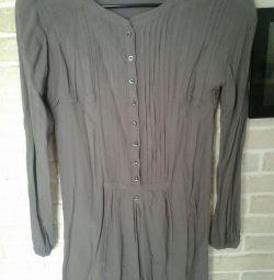 Платье-рубашка massimo Dutti