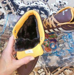 Spor ayakkabı kış yeni