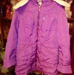 Kışlık Bebek Ceketi, 48-50