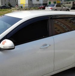 Frame blinds for Kia Rio 3