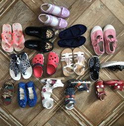 Pantofi second-hand CHEAP, fete sub 5 ani, băiat sub 3 ani