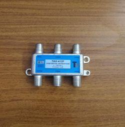 Antenna plug and splitter