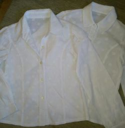 School blouse (2 pcs.)