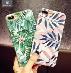 Cover pentru iPhone 8 noi 🌴🌿