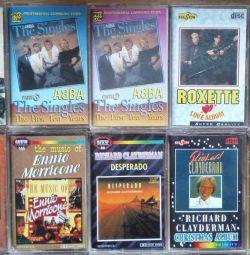 ABBA Whitney Houston Roxette Enigma 3 κασέτες ήχου