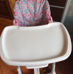 Βρεφική καρέκλα για δείπνο prima pappa