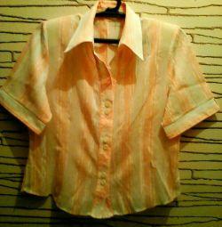 Μεταξωτή μπλούζα