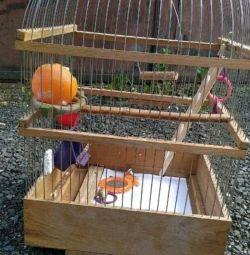 Клетка для малых птиц