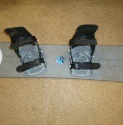 Kids snowboard rus hacta with crepes