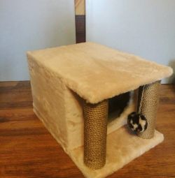 Cat house, from the manufacturer