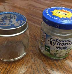 10 Баночек за 10 рублей из-под детского питания