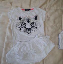φούστα zara t-shirt