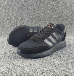 Adidas Iniki Boost Runner all black