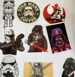 Star Wars sticker in assortment