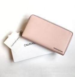 Гаманець великий на блискавки Calvin Klein