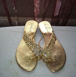 Χρυσά σαγιονάρες