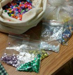 Margele și paiete pentru creativitate