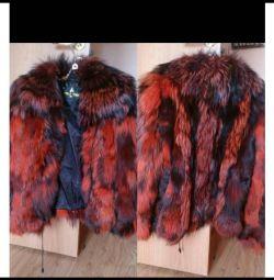 Νέο παλτό από αλεπού και πολική αλεπού