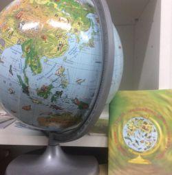 Globus Earth zoological