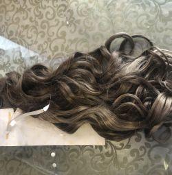 Волосы искусственные длинные