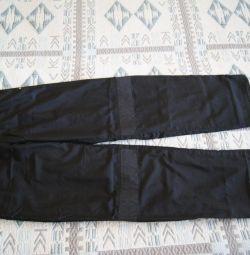 Demix trousers from raincoat p.44 Measurements