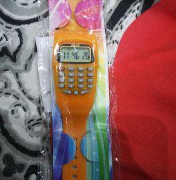 Νέο ρολόι με αριθμομηχανή