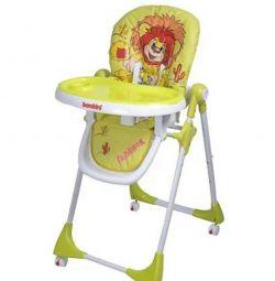 Chair for feeding